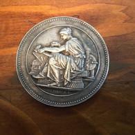 MEDAILLE  ARGENT  - CHAMBRE DU COMMERCE DE BESANCON  13 MAI 1819 - TTB - Otros