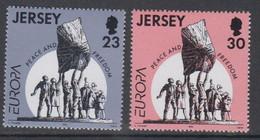 Europa Cept 1995 Jersey 2v ** Mnh (50142N) ROCK BOTTOM - Europa-CEPT