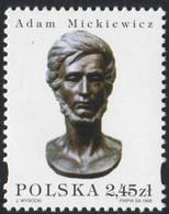 Poland 1998 Mi 3741 Adam Mickiewicz - Polish Poet, Dramatist, Essayist, Publicist, Translator, Professor MNH** - Ongebruikt