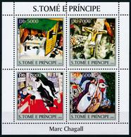 NB - [401561]TB//**/Mnh-Sao Tomé-et-Principe 2004 - Marc Chagall, Tableau - Peinture - Art - Andere
