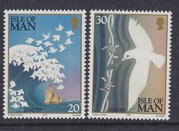 Europa Cept 1995 Isle Of Man 2v ** Mnh (50142P) ROCK BOTTOM - Europa-CEPT