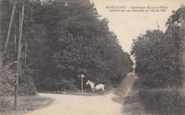 CPA - Montigny - Carrefour Du Gros Hêtre Détruit Par Un Incendie En Juillet 1905 - Montigny Le Bretonneux