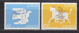 Europa Cept 1995 Switzerland 2v ** Mnh (50142Q) ROCK BOTTOM - Europa-CEPT