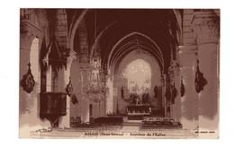 Carte D'ASSAIS (Deux-Sèvres),Intérieur De L'Eglise Circulée - Thouars