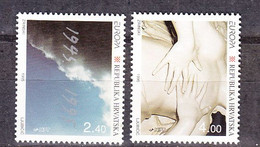 Europa Cept 1995 Croatia  2v ** Mnh (50142U) GALAXY PRICE - Europa-CEPT