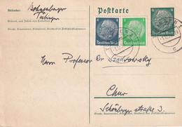 ALLEMAGNE 1939   ENTIER POSTAL/GANZSACHE/POSTAL STATIONARY CARTE DE TÜBINGEN - Enteros Postales