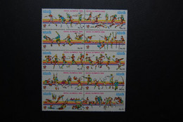 PAKISTAN SG 742-51 OLYMPICS SEOUL 1988 SHEET  Without MARGINS - Pakistan