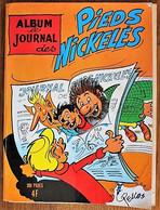 BD RECUEIL ALBUM DU JOURNAL DES PIEDS NICKELES - 25 - N°77 - 78 - 79 De 1972 - Pieds Nickelés, Les