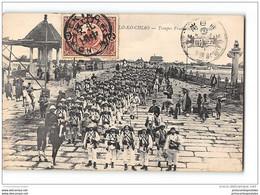 CPA Lo Ko Chiao Troupes Francaises En Marche - China