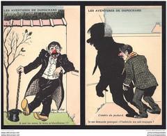 Serie De 6 Cpa Les Aventures De Dupochard - Sager, Xavier