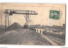 CPA 02 La Fère Acieries Et Laminoirs De Beautor Pont Roulant - Chemin De Fer Industriel - Other Municipalities