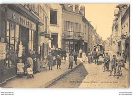 CPA 41 St Saint Aignan Sur Cher La Rue Du Pont - Saint Aignan