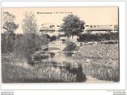 CPA 58 Montsauche Le Pont De Cure Et Le Train Tramway Ligne De Nevers Saulieu - Montsauche Les Settons