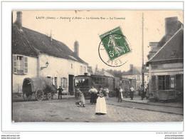 CPA 02 Laon Faubourg D'Ardon La Grande Rue Et Le Train Tramway Ligne De Laon Nouvion Le Vineux - Laon