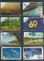 PROMOTION   8 Cartes Liberté Et Izi  1000et 3000cfp Et 5000cfp   (tiroirbure) - Nouvelle-Calédonie