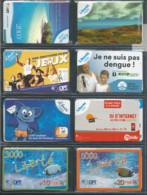 PROMOTION   8 Cartes Liberté Et  1000et 3000cfp Et 5000cfp   (tiroirbure) - Nouvelle-Calédonie