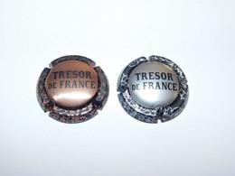 2 Capsules De Champagne - JANISON Et FILS (Trésor De France) - Champagnerdeckel