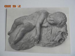 Cyprus Museum 19. Marble Statue Of Sleeping Eros. Third Century B.C. From Paphos (E.464) - Antike