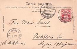 SCHWEIZ - ANSICHTSKARTE 1905 ADELBODEN > PROBSTHEIDA /AS224 - Cartas