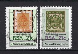 ZUID AFRIKA Yt. 715/716° Gestempeld 1990 - Sud Africa (1961-...)