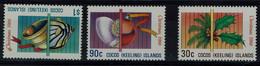 COCOS ISLANDS 1986 CHRISTMAS MI No 163-5 MNH VF!! - Cocos (Keeling) Islands