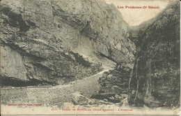 Gorge De Bouchard ( Haut Aragon ) , L' Echelle , 1908 - Ohne Zuordnung