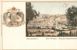 Israël - Jeruzalem - Der Tempel Die Erloserkirche - 1900 - Israel