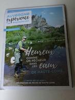 Dépliant   Auvergne . Pêcheur De Haute- Loire - Pesca
