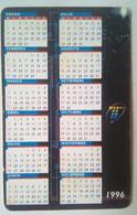 Argentina 20 Units Calendar 1996 - Argentina
