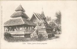Laos - Indo Chinoise - Tats Pres D Une Pagode - 1910 - Laos