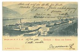 RO 01 - 16389 ORSOVA, Panorama, Litho, Romania - Old Postcard - Used - 1900 - Rumania