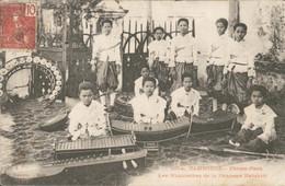 Cambodja - Cambodge - Phnom Penh - Musiciennes De La Princesse Kanakari - 1907 - Camboya