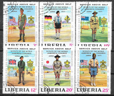 Liberia N° 534/39 Yvert OBLITERE - Liberia