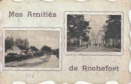 "OSTCANTONS : ZK (ROCHEFORT) ""SM""  ""ROCHEFORT 27.VI.1920""  Naar 13 A Camp ELSENBORN ""P M B  10 / 28.VI.20"" - Marcophilie"