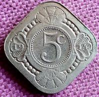 NEDERLAND :  STUIVER 5 CENT 1914 KM 153 - 5 Cent