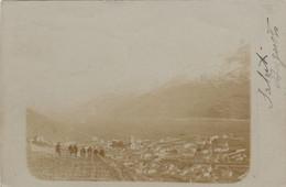 SONDRIO-CARTOLINA VERA FOTOGRAFIA-VIAGGIATA IL 9-4-1904 - Sondrio