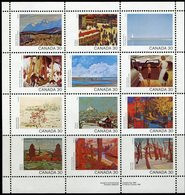 CANADA 1982 Canada Day Painting Sheetlet MNH MINT [MNH] LUXE ** - Nuovi