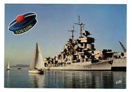 83 TOULON N°816 L'Entrée De La Darse Vieille En 1978 Voilier Et Navires De Guerre F762 Pompon De Marin VOIR DOS - Toulon
