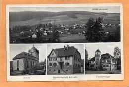 Wehrda Uber Hunenfeld Germany 1930 Postcard - Marburg