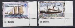 Falkland Islands 1982 Commonwealth Games 2v (corners) ** Mnh (48671A) - Islas Malvinas