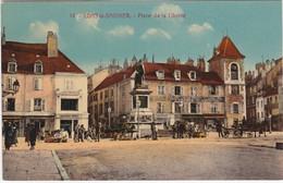 F3462 LONS LE SAUNIERS - ANIMATIONS DE LA PLACE DE LA LIBERTE ET COMMERCES - Lons Le Saunier