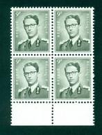 Belgique - COB 1073 En Bloc De 4 Avec BDF - Sans Trace De Charnière - Cote ~420€ - Unused Stamps