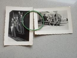 2 Photos Originales Spa La Gare Bus Militaires - Zonder Classificatie