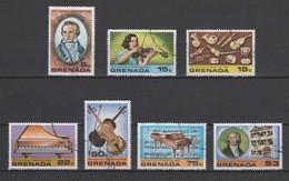 (S0089) GRENADA, 1978 (Ludwig Van Beethoven). Complete Set. Mi ## 904-910. Used - Grenada (1974-...)