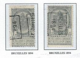 Préo Roulette 1894  (avec Feuilles De Classement) - Precancels