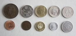 10 Monnaies Différentes - Lot N°9 - Mezclas - Monedas