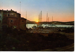 Italie Sardegna Sardaigne Costa Smeralda Porto Cervo Coucher Soleil Port Tramonto Porto 1971 Valembois St Saint Maximin - Italia
