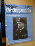 Die Kriegsmarine Heft 10. Oktober 1938 - Revues & Journaux