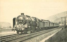 Thème Train Locomotives Deutsche Reichsbahn Mikado Ex P 10 CP Ed. H.M.P. N°895 Locomotive Vapeur - Trenes