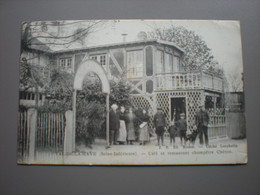 VAL-DE-LA-HAYE - CAFE ET RESTAURANT CHAMPETRE CHERON 1916 - Otros Municipios